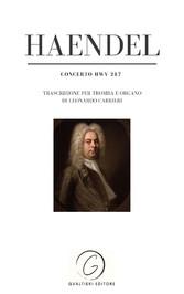 Haendel - Concerto HWV 287 Trascrizione per tromba e organo di Leonardo Carrieri