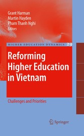 Reforming Higher Education in Vietnam Challenges and Priorities