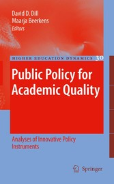 Public Policy for Academic Quality Analyses of Innovative Policy Instruments