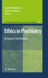Ethics in Psychiatry European Contributions