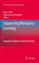 Supporting Workplace Learning Towards Evidence-based Practice