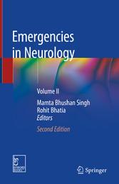 Emergencies in Neurology Volume II