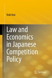 Law and Economics in Japanese Competition Policy