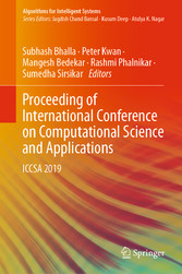 Proceeding of International Conference on Computational Science and Applications ICCSA 2019
