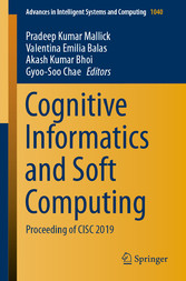 Cognitive Informatics and Soft Computing Proceeding of CISC 2019