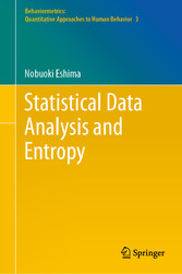 Statistical Data Analysis and Entropy