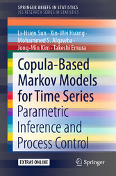 Copula-Based Markov Models for Time Series Parametric Inference and Process Control
