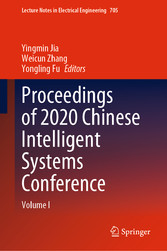 Proceedings of 2020 Chinese Intelligent Systems Conference Volume I