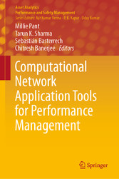 Computational Network Application Tools for Performance Management